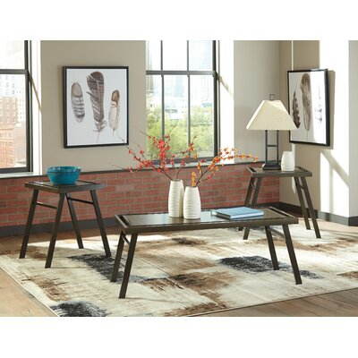Siegel 3 Piece Coffee Table Set