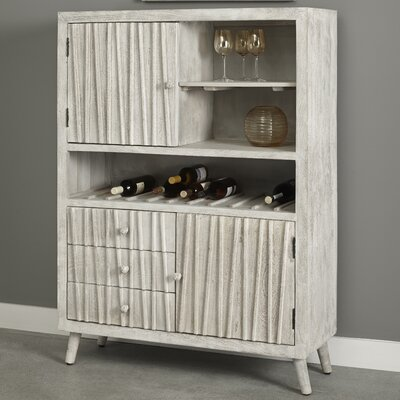 Dolly 3 Drawer 2 Door Bar with Wine Storage