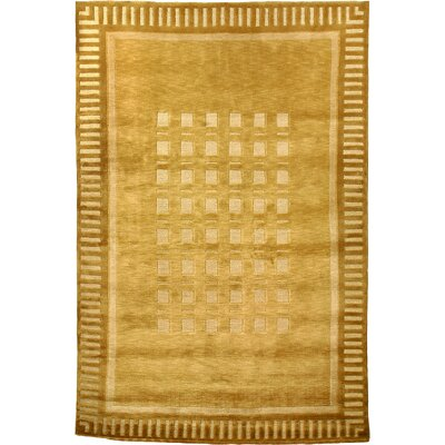 Chriswell Tibetan Sheep Gold Indoor/Outdoor Area Rug Rug Size: 9 x 12