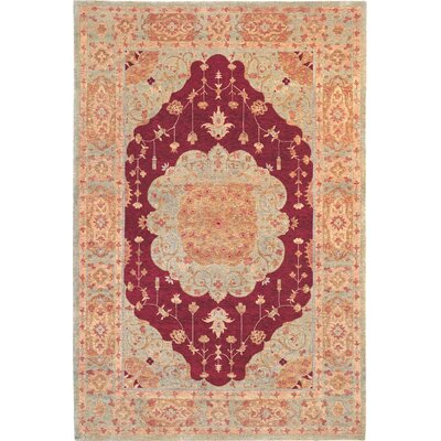 Waters Himalayan Sheep Floral Rug Rug Size: 8 x 10