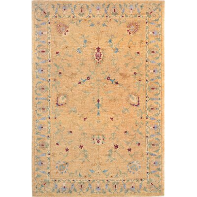 Waters Himalayan Sheep Flower Rug Rug Size: 8 x 10