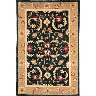 Imperial Himalayan Sheep Flower Gold Indoor/Outdoor Area Rug Rug Size: 6 x 9