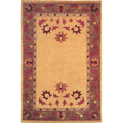 Valerie Himalayan Sheep Gold/Brown Area Rug Rug Size: 8 x 10