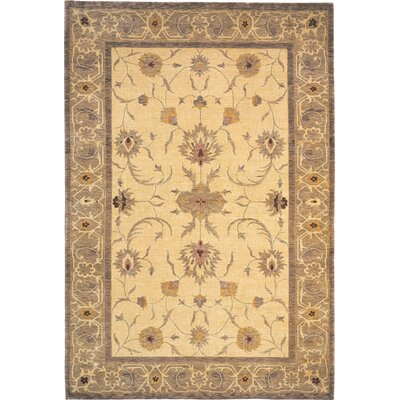 Wellington Himalayan Sheep Gold Area Rug Rug Size: 6 x 9
