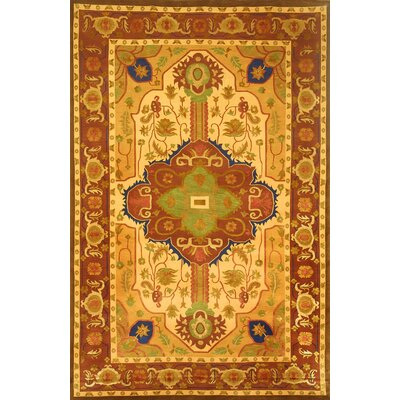Varley Himalayan Sheep Gold Area Rug Rug Size: 8 x 10
