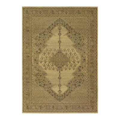 Cleveland Beige Area Rug Rug Size: Rectangle 53 x 76