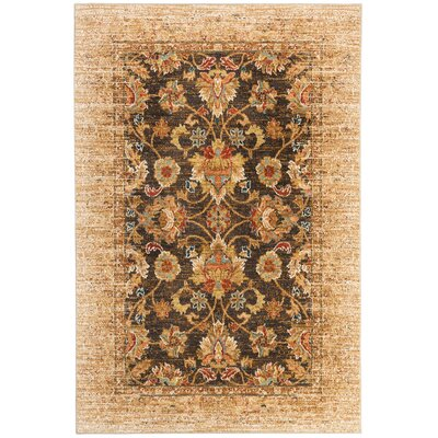 Elenora Gold Area Rug Rug Size: Rectangle 53 x 710