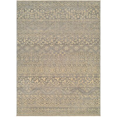 Nickalos Mauve/Tan Area Rug Rug Size: Rectangle 56 x 78