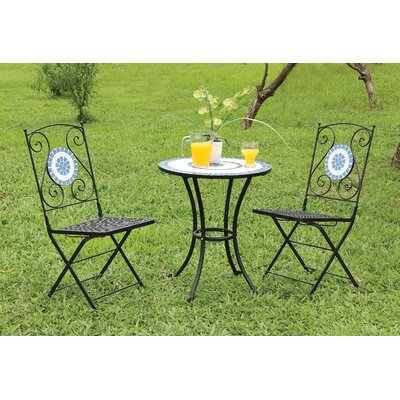 Sonderborg 3 Piece Dining Set