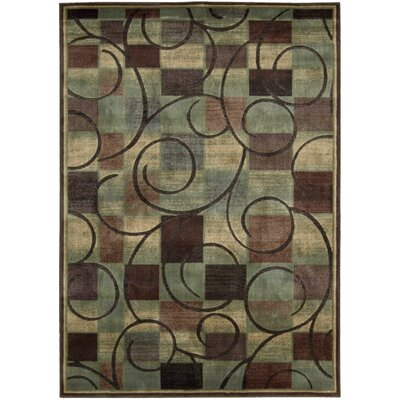 Pyrex Brown Area Rug Rug Size: Rectangle 96 x 13