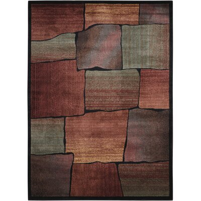 Meher Multicolor Area Rug Rug Size: 53 x 75