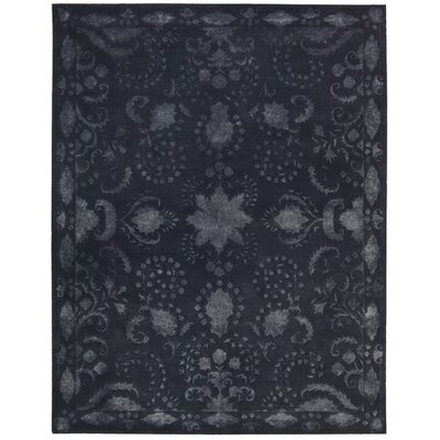 Veda Indigo Area Rug Rug Size: Rectangle 76 x 96