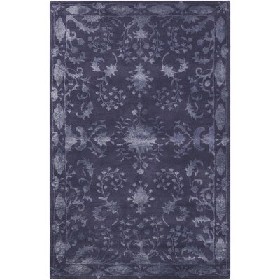 Veda Indigo Area Rug Rug Size: 36 x 56