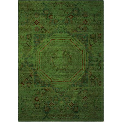 Pilou Teal Area Rug Rug Size: Rectangle 12 x 15