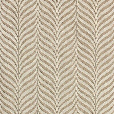 Netea Hand-Tufted Sand/Ivory Area Rug Rug Size: Square 5