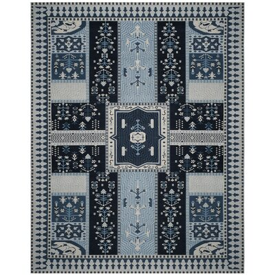 Essie Blue Area Rug Rug Size: Rectangle 8 x 10