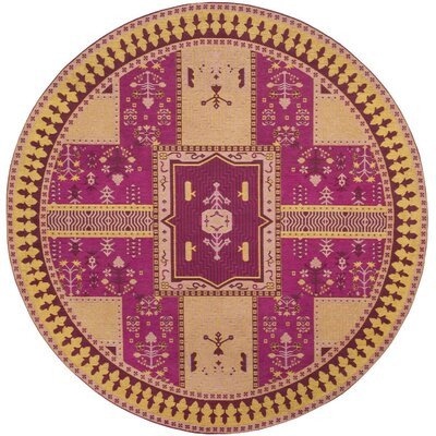 Essie Pink Indoor Area Rug Rug Size: Rectangle 67 x 92
