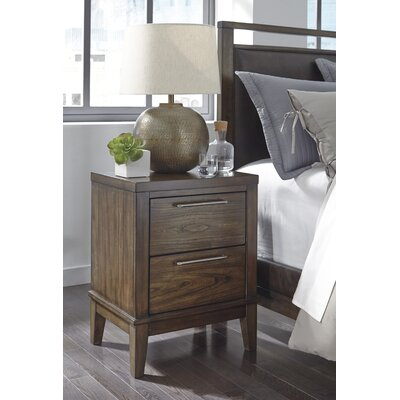 Varian 2 Drawer Nightstand
