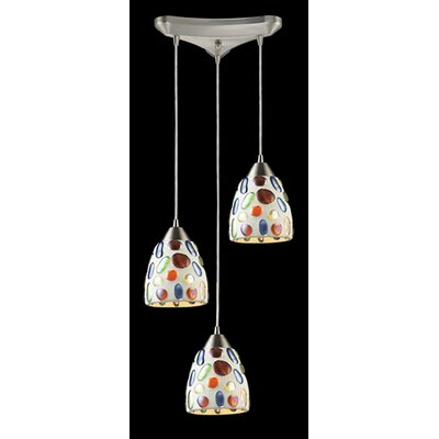 Franeker 3-Light Pendant