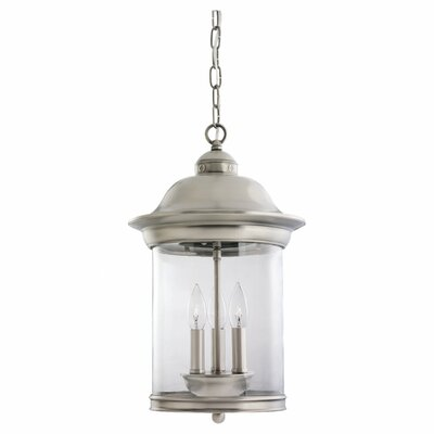Brettany 3-Light Foyer Pendant