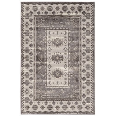 Dre Beige/Gray Area Rug Rug Size: Rectangle 2 x 3