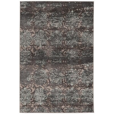 Archer Gray Area Rug Rug Size: Rectangle 8 x 10
