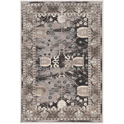 Maloree Beige/Gray Area Rug Rug Size: 2 x 3