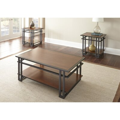 Amskroud 3 Piece Coffee Table Set