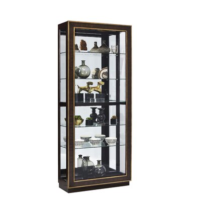 Jedediah Lighted Curio Cabinet