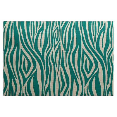 Echo Jade Indoor/Outdoor Area Rug Rug Size: 3 x 5