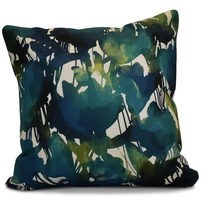Kam Abstract Floral Euro Pillow