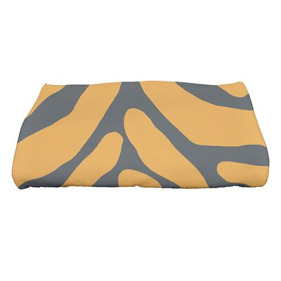 Echo Animal Geometric Print Bath Towel Color: Gray