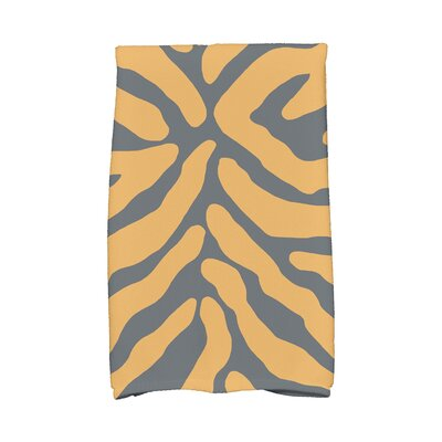 Kam Animal Print Hand Towel Color: Gray