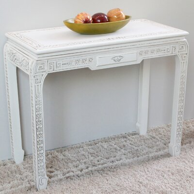 Wilder Console Table Finish: Antique White