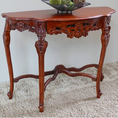 Wilder Console Table Finish: Stain