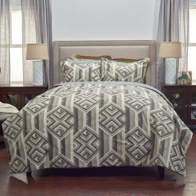 Spencer 3 Piece Comforter Set Size: Queen