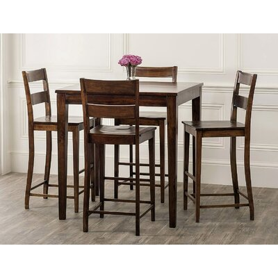 Kristopher 5 Piece Pub Table Set