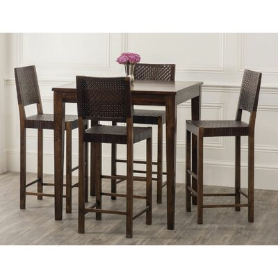 Gambino 5 Piece Pub Table Set