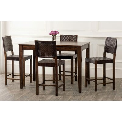 Panasonic Rustic Counter Height Dining Table