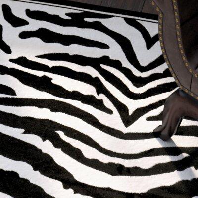 Lakewood Cream/Black Area Rug Rug Size: Runner 23 x 10