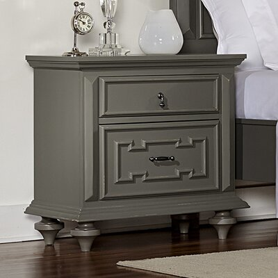 Alstrom 2 Drawer Nightstand