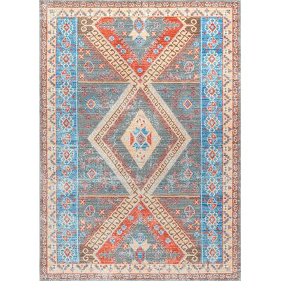 Lacey Gray Area Rug Rug Size: Rectangle 53 x 77