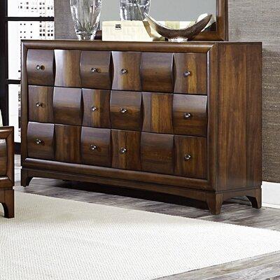 Ainslie Brook 6 Drawer Standard Dresser