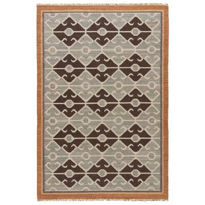 Abelia Bone White/Wood Ash Area Rug Rug Size: 2 x 3