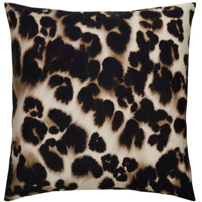 Purti Cheetah Watercolor Throw Pillow