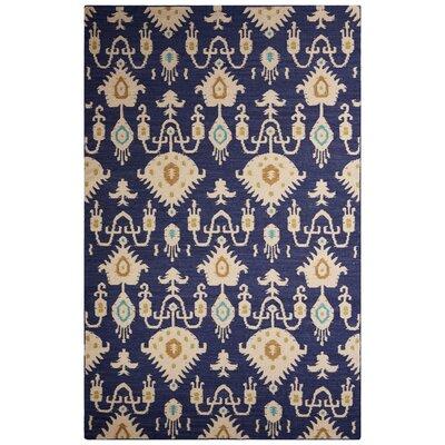 Halden Blue/Ivory Area Rug Rug Size: 5 x 8