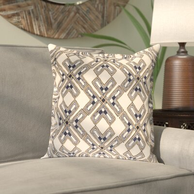 Andre Linen Pillow Cover Size: 18 H x 18 W x 1 D, Color: Cream