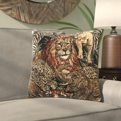 Montgomery Throw Pillow Color: African Safari