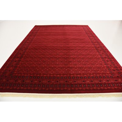 Kowloon Red Area Rug