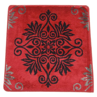 Jamiya Red Floral Area Rug